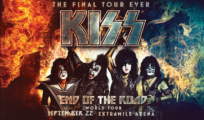 Bangor Home Show 2020.Kiss End Of The Road World Tour Extramile Arena