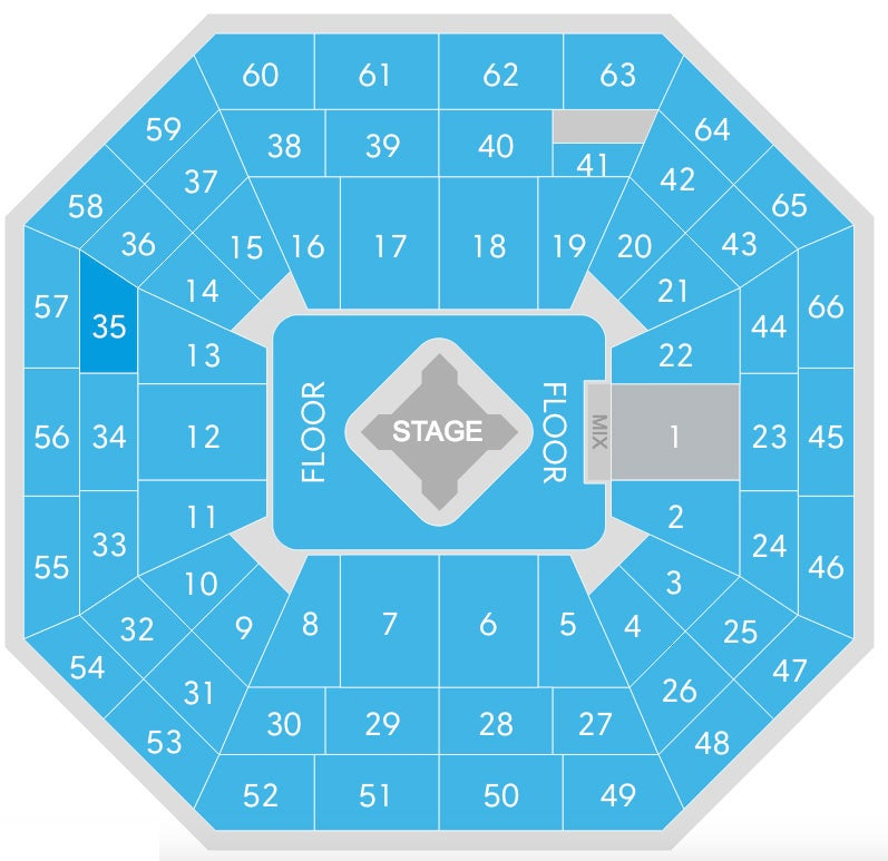 Intrust Seating Chart Seating Charts Events Tickets